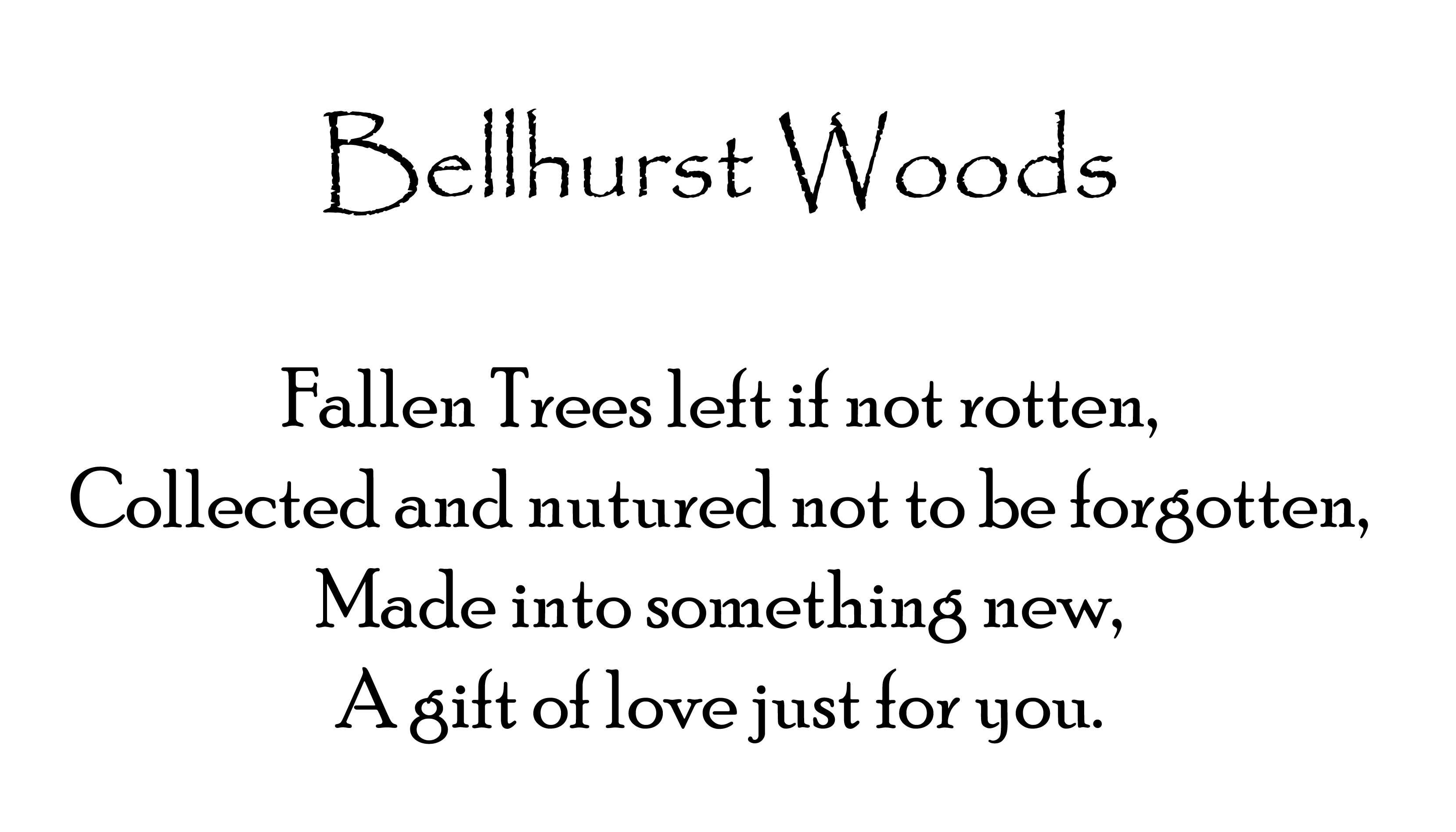 bellhurst-woods-poster